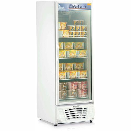 Tudo sobre 'Expositor Vertical para Sorvete GPTF570 Gelopar Freezer 578 Litros Branco 220v'