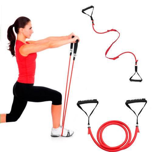 Tudo sobre 'Extensor Elástico para Exercícios Ginástica e Musculação'