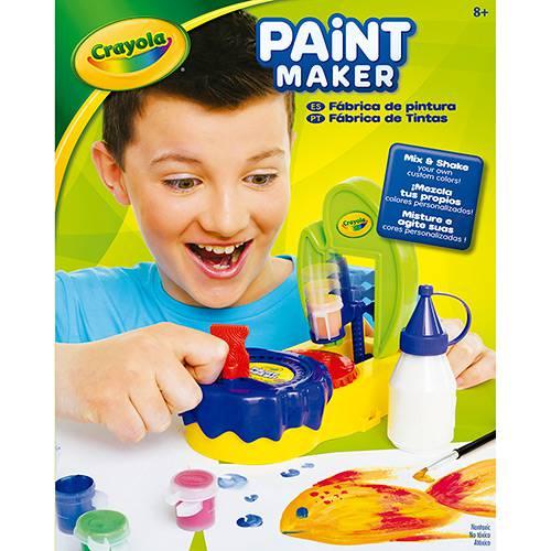 Tudo sobre 'Fábrica de Tintas Paint Maker - Crayola'