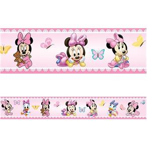 Tudo sobre 'Faixa Decorativa Baby Minnie 5m por 15cm'