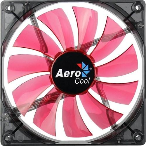 Fan Aerocool P/ Gabinete 140X140X25 Led Red En51370