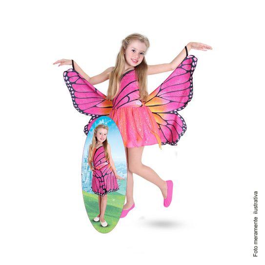 Tudo sobre 'Fantasia Barbie Butterfly Infantil Luxo P'