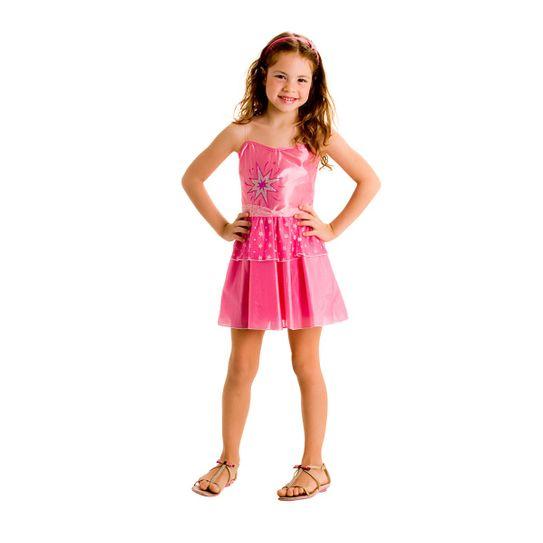 Tudo sobre 'Fantasia Barbie Moda e Magia Pop P'