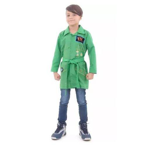 Tudo sobre 'Fantasia Dpa Verde Infantil'