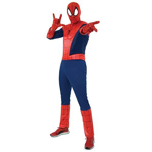 Fantasia Homem Aranha Adulto - Spider Man P