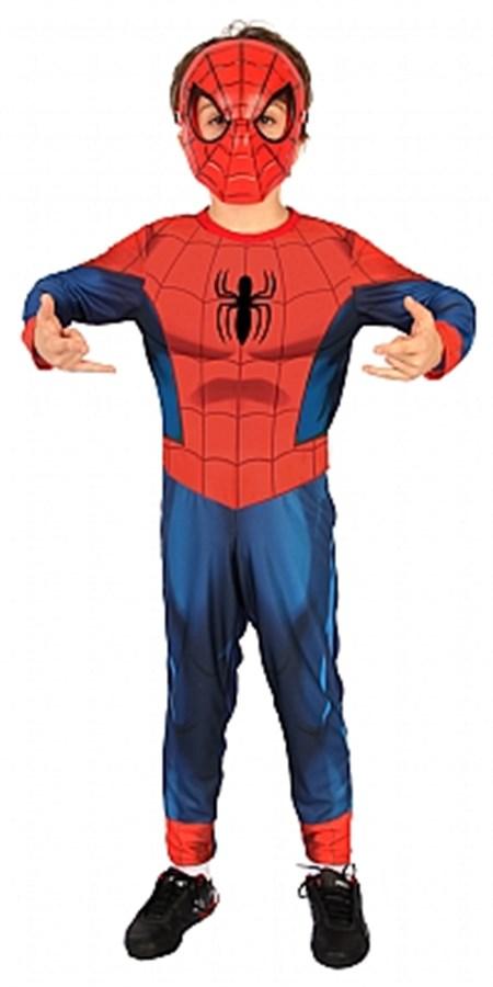 Fantasia Homem Aranha Ultimate Longo P