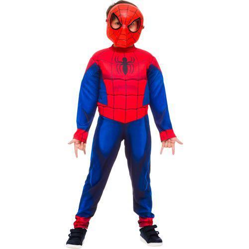 Tudo sobre 'Fantasia Homem Aranha Ultimate Luxo - Tamanho M - Rubies'