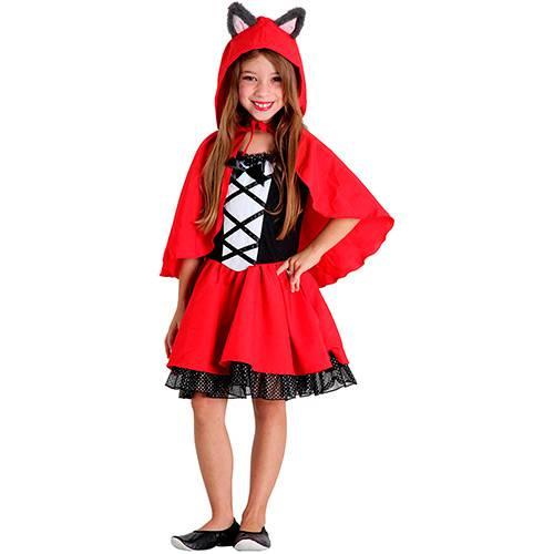 Tudo sobre 'Fantasia Infantil Chapeuzinho Vermelho Luxo - Sulamericana'