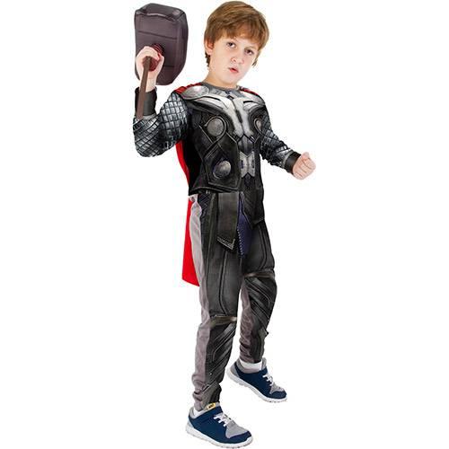 Tudo sobre 'Fantasia Infantil Thor Longa com Martelo - Rubies'