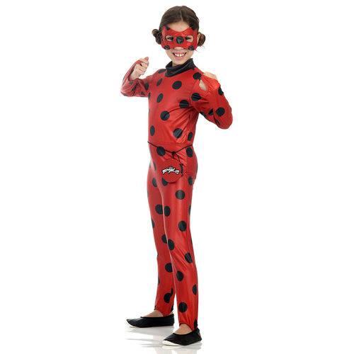 Tudo sobre 'Fantasia Infantil Ladybug M - Sulamericana'
