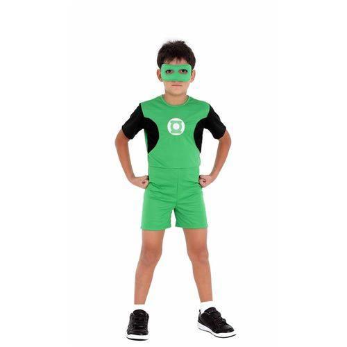 Tudo sobre 'Fantasia Lanterna Verde Pop com Máscara Clássico'