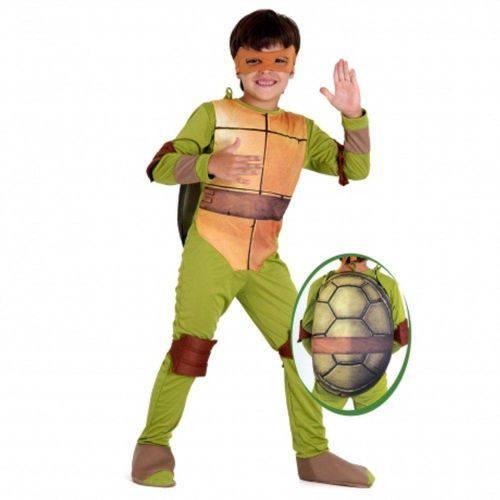 Tudo sobre 'Fantasia Luxo Tartarugas Ninjas Michelangelo - P'