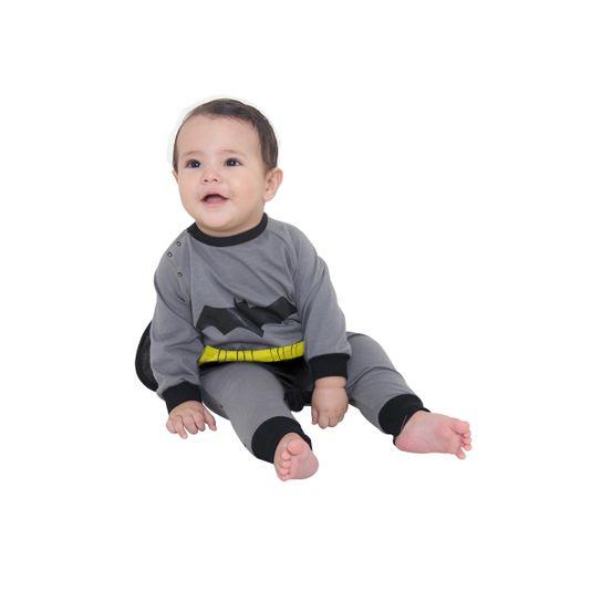 Tudo sobre 'Fantasia Macacão Batman Bebê P'