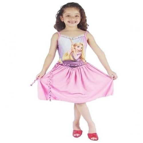 Tudo sobre 'Fantasia Princesa Bela Bebê Luxo - Tamanho M - Infantil'