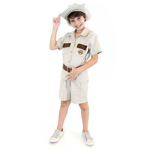 Tudo sobre 'Fantasia Safari Infantil Maculino'