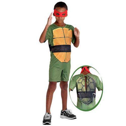 Tudo sobre 'Fantasia Tartarugas Ninjas Raphael - Pop'