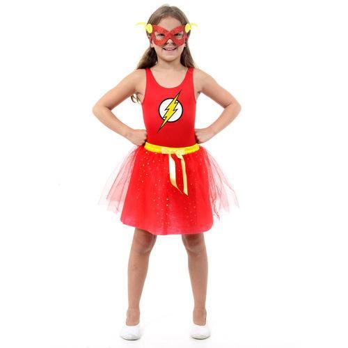 Tudo sobre 'Fantasia The Flash Feminino Infantil - Dress Up'