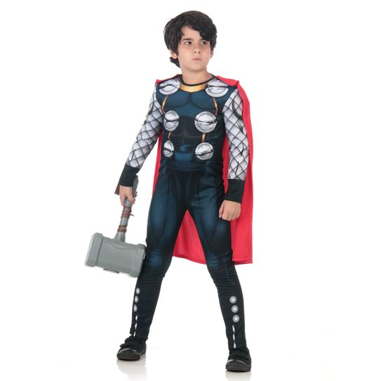 Tudo sobre 'Fantasia Thor Infantil Premium P'