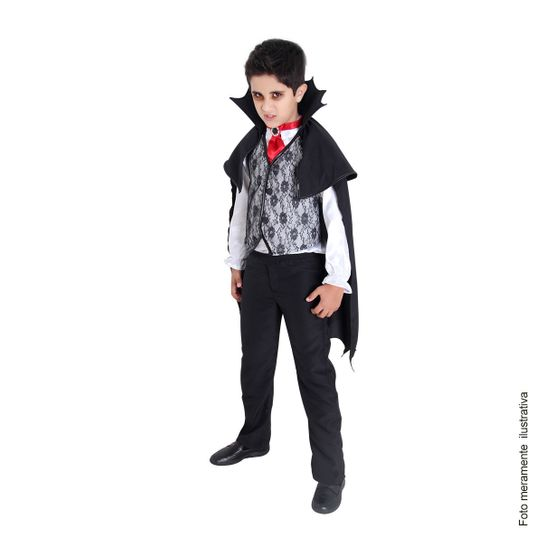 Tudo sobre 'Fantasia Infantil Vampiro Stefan G'
