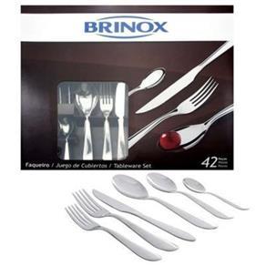 Faqueiro Bellagio 42 Pçs - Brinox