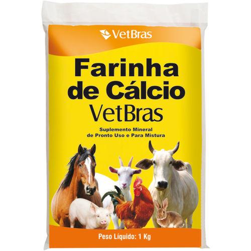 Farinha de Cálcio 1 Kg Vetbrás