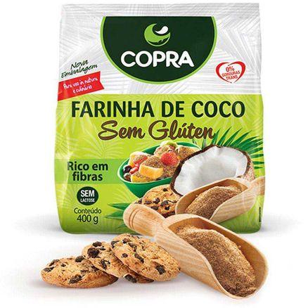 Farinha de Coco Copra Sem Gluten 400g