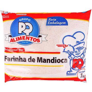 Farinha de Mandioca Crua PQ 1kg