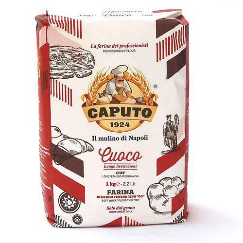 Tudo sobre 'Farinha Italiana Tipo 00 Cuoco Caputo 1kg'