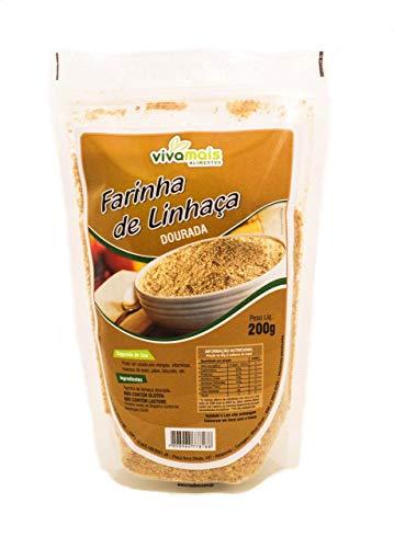 Farinha Linhaça Dourada Vivamais Alimentos 200g