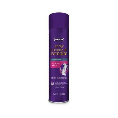 Farmax Secante de Esmalte Spray 400ml