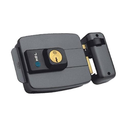 Fechadura Elétrica C90 Dupla Cinza - HDL - HDL