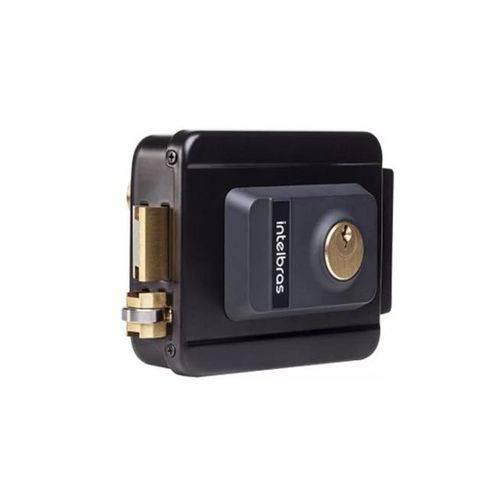 Fechadura Elétrica de Cilindro FX2000 Preta