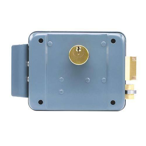 Fechadura Intelbras Elétrica de Cilindro Fixo Fx 2000 Cinza Cinza Bivolt