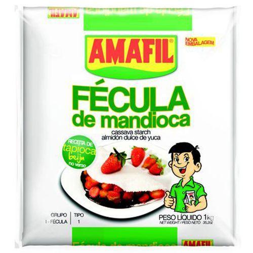 Fécula de Mandioca Amafil 1 Kg