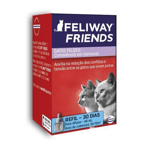 Tudo sobre 'Feliway Friends Refil com 48ml'