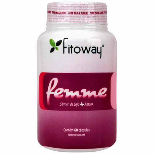 Tudo sobre 'Femme Fitoway (amora + Germen Soja)'
