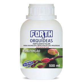 Fertilizante Foliar Líquido Concentrado para Orquídeas - Manutenção Forth 500 Ml