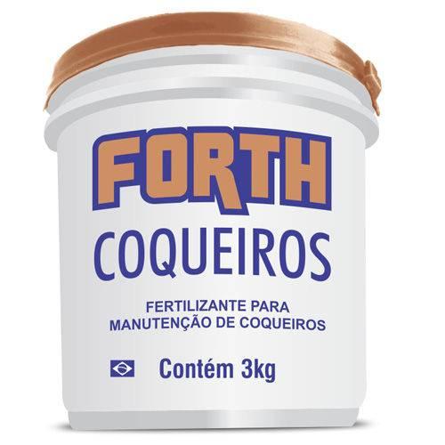 Tudo sobre 'Fertilizante Forth Coqueiros 3kg'