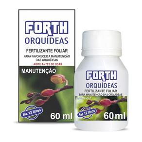 Fertilizante Forth Orqu?deas Manuten??o L?quido Concentrado 60Ml