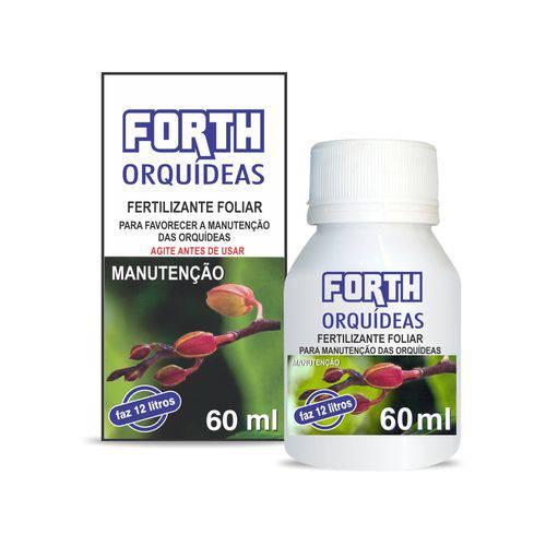 Fertilizante Forth Orquídeas Manutenção 60 Ml Concentrado