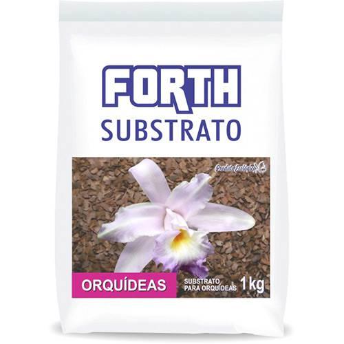 Fertilizante Forth Substrato Orquídeas Casca Pinus + Fibra de Coco 1kg