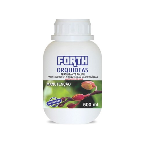 Fertilizante Liquido Concentrado Forth Orquídeas Manutenção 500ml