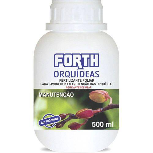 Fertilizante Líquido Concentrado Forth para Orquídeas Manutenção - 500ml