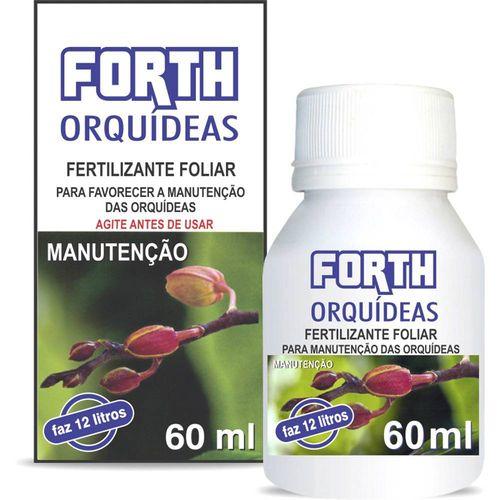 Tudo sobre 'Fertilizante Líquido Concentrado Forth para Orquídeas Manutenção - 60ml'