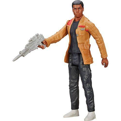 Tudo sobre 'Figura 12 Star Wars Epvii - Finn Jakku'