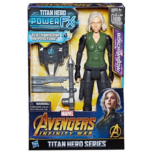 Figura de Ação - Disney - Marvel - Avengers - Guerra Infinita - Titan Hero - Viúva Negra - Hasbro