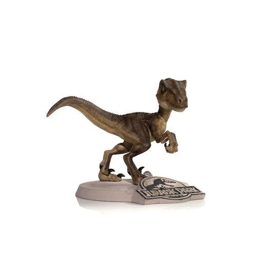 Tudo sobre 'Figura Velociraptor Jurassic Park Mini Heroes - Mini Co'