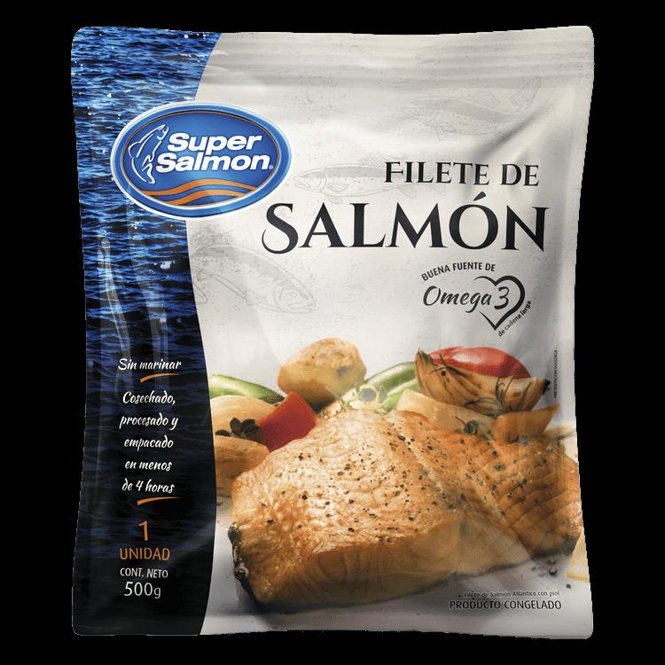 Filete de Salmón Congelado 500 G