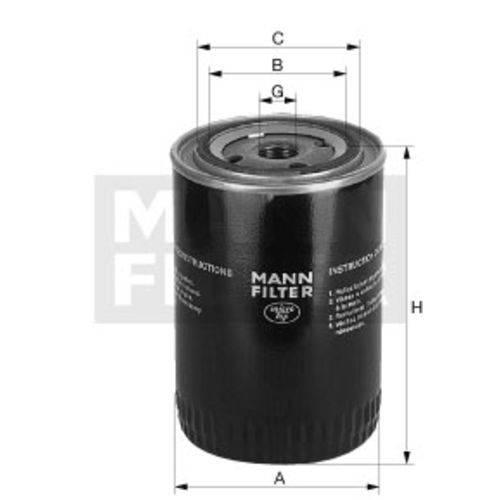 Tudo sobre 'Filtro Blindado do Óleo Lubrificante - Mann-Filter - W940/69 - Unitário'
