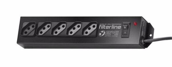 Filtro de Linha 5 Tomadas Filterline Bmi
